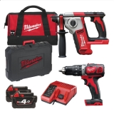 Milwaukee M18 BPP2E-402B
