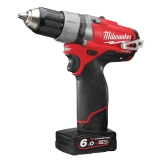 Milwaukee M12 CDD-602X FUEL, šroubovák